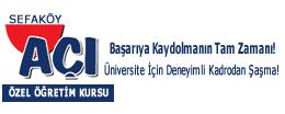 Sefaköy Açı Özel Öğretim Kursu-logo-genis. TYT-AYT-LGS Hazırlık Kursu.