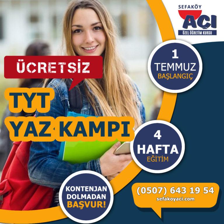 ÜCRETSİZ TYT YAZ KAMPI-mobile- EKRAN. Sefaköy Açı Özel Öğretim Kursu. TYT-AYT-LGS Hazırlık Kursu.